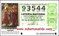 loteria de navidad 2011