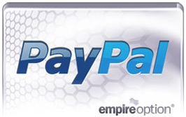 paypal disponible en empireoption