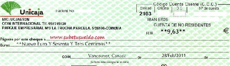 noveno cheque acop