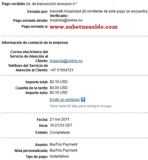 pago buxtrio