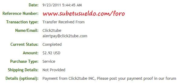 prueba cobro click2tube
