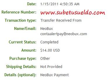 41 pagos en neobux