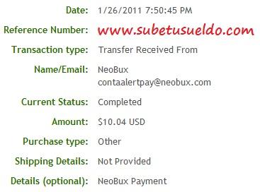 42 pagos en neobux