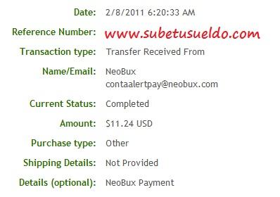 43 pagos en neobux