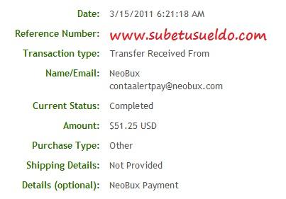 45 pagos en neobux