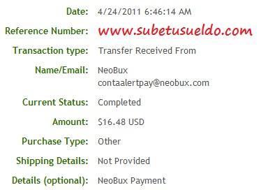 prueba pago neobux